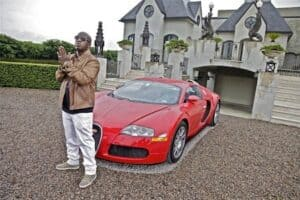 Rapper Birdman's Bugatti
