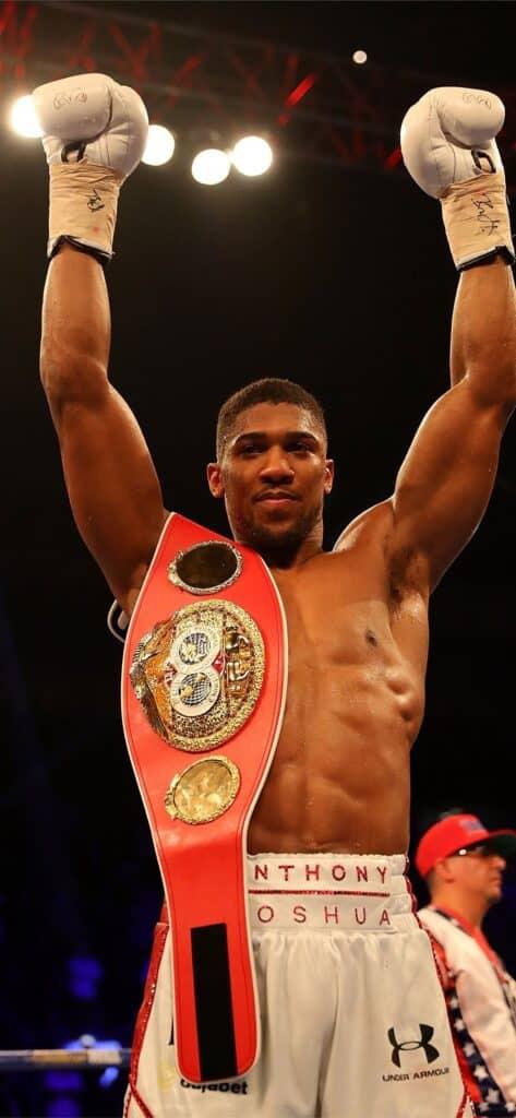 Joshua after winning title