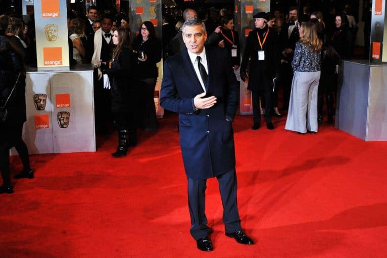 George Clooney on Red Carpet