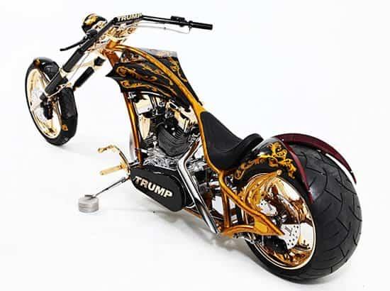 Donald Trump's 24 Karat Gold Chopper.