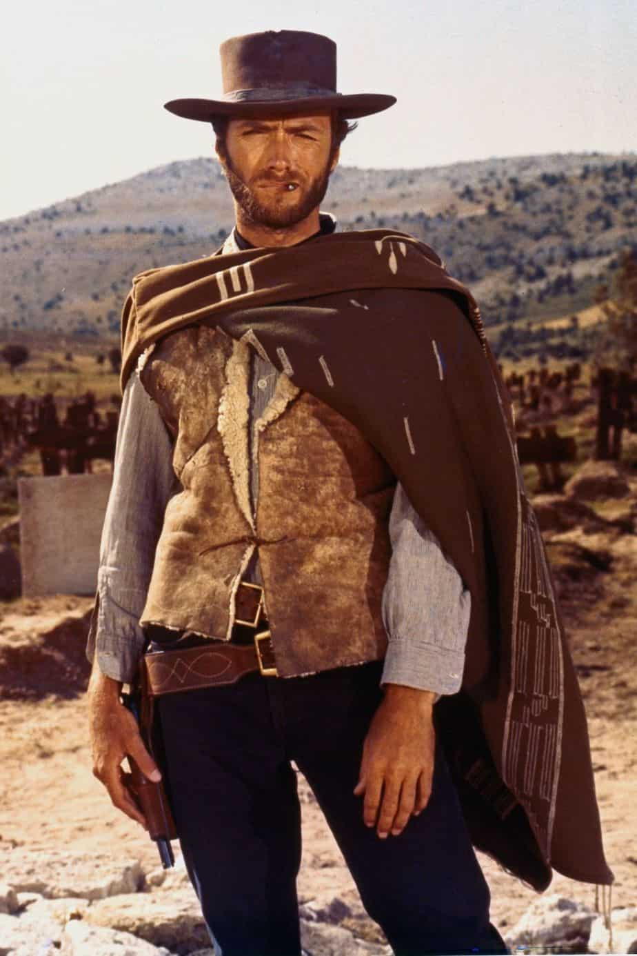 Eastwood in The Good, the Bad and the Ugly