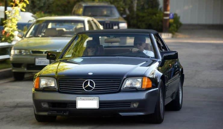 Mr. Ford on his Mercedes Benz S-Class