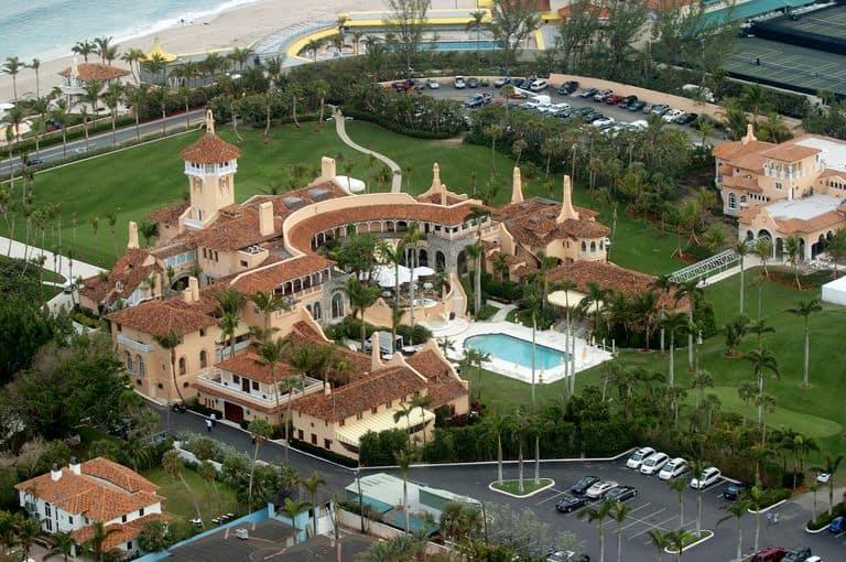 Trump's Mar-a-Lago, Palm Beach.