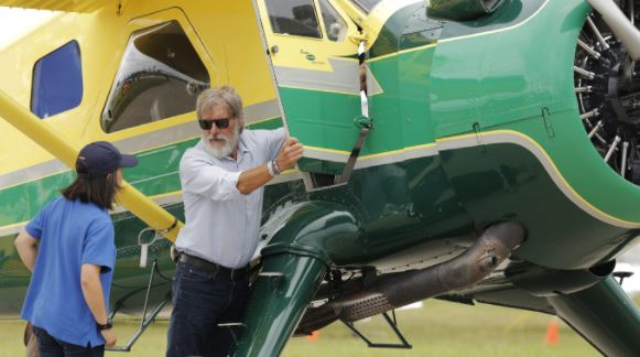 Mr. Ford with his DHC-2 Beaver Plane
