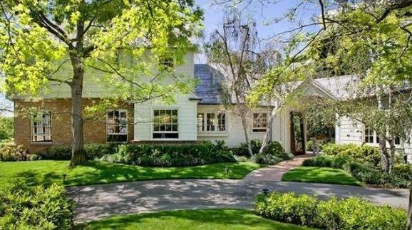 Harrison Ford's Brentwood House