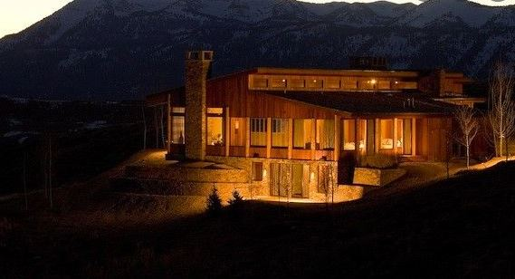 Harrison Ford's Wyoming Ranch