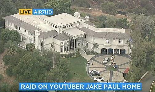 Jake Paul's House Raid By FBI