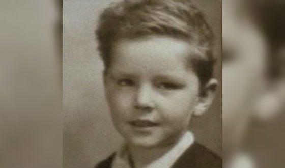 Jack Nicholson as a Child