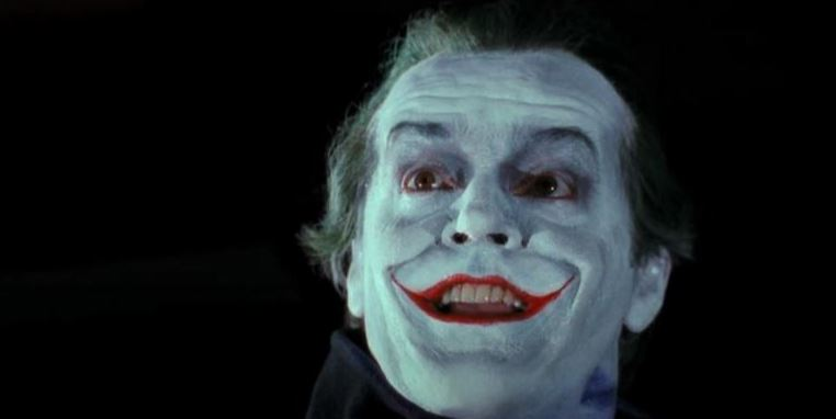 Jack Nicholson ad a Joker