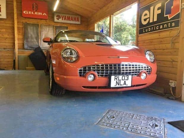Ross's Ford 007 Thunderbird.