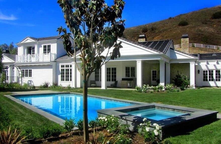 Kylie's Former Mansion in Hidden Hills