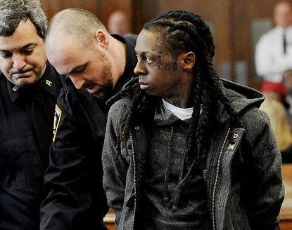 Lil Wayne on Court