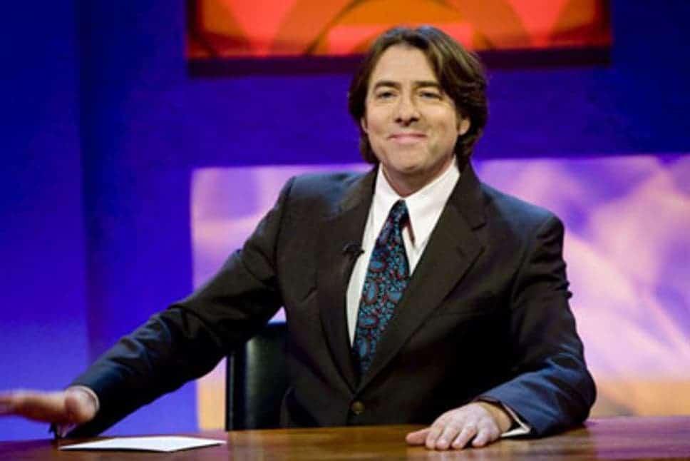TV personality Jonathan Ross.