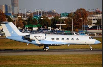Michael Jordan's Private Jet