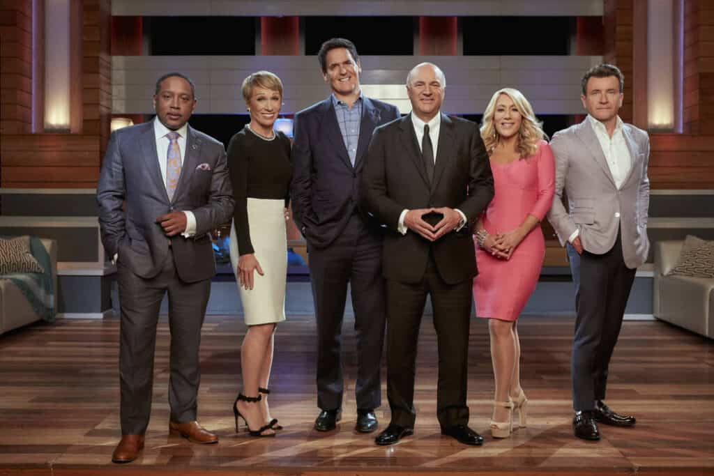 Kevin O'Leary With Fellow Shark Tank Judges