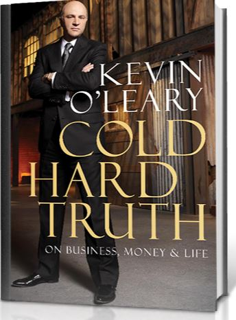 Kevin O'Leary Net Worth-Book