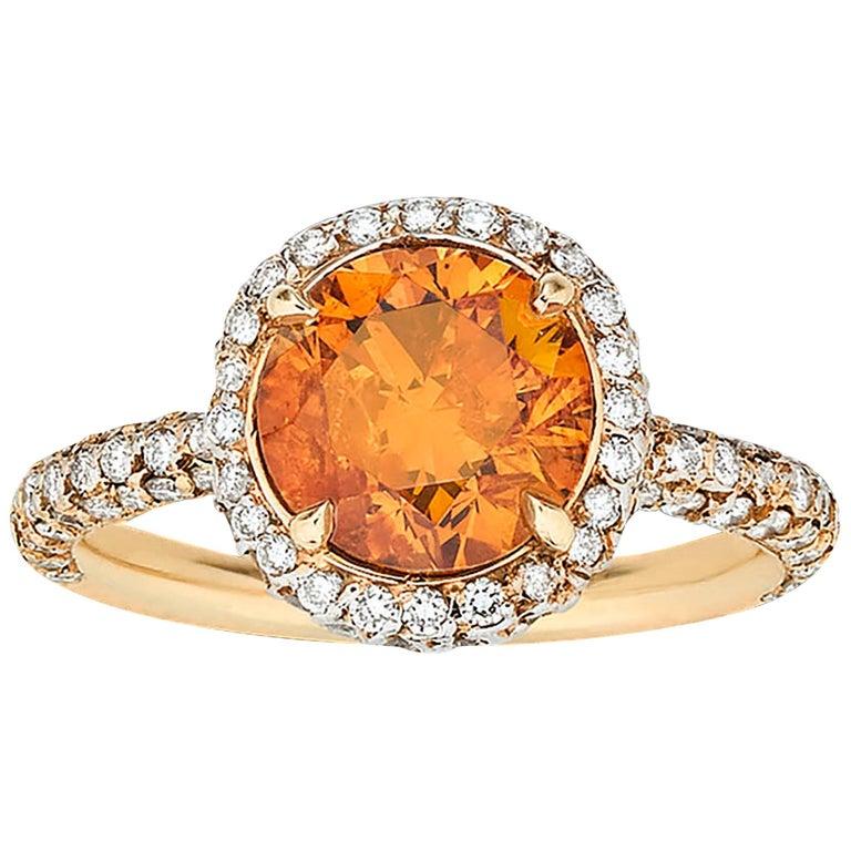 Orange-Diamond-Ring