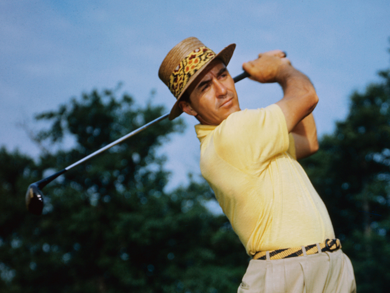 Sam-Snead, one of the best golfers of all time