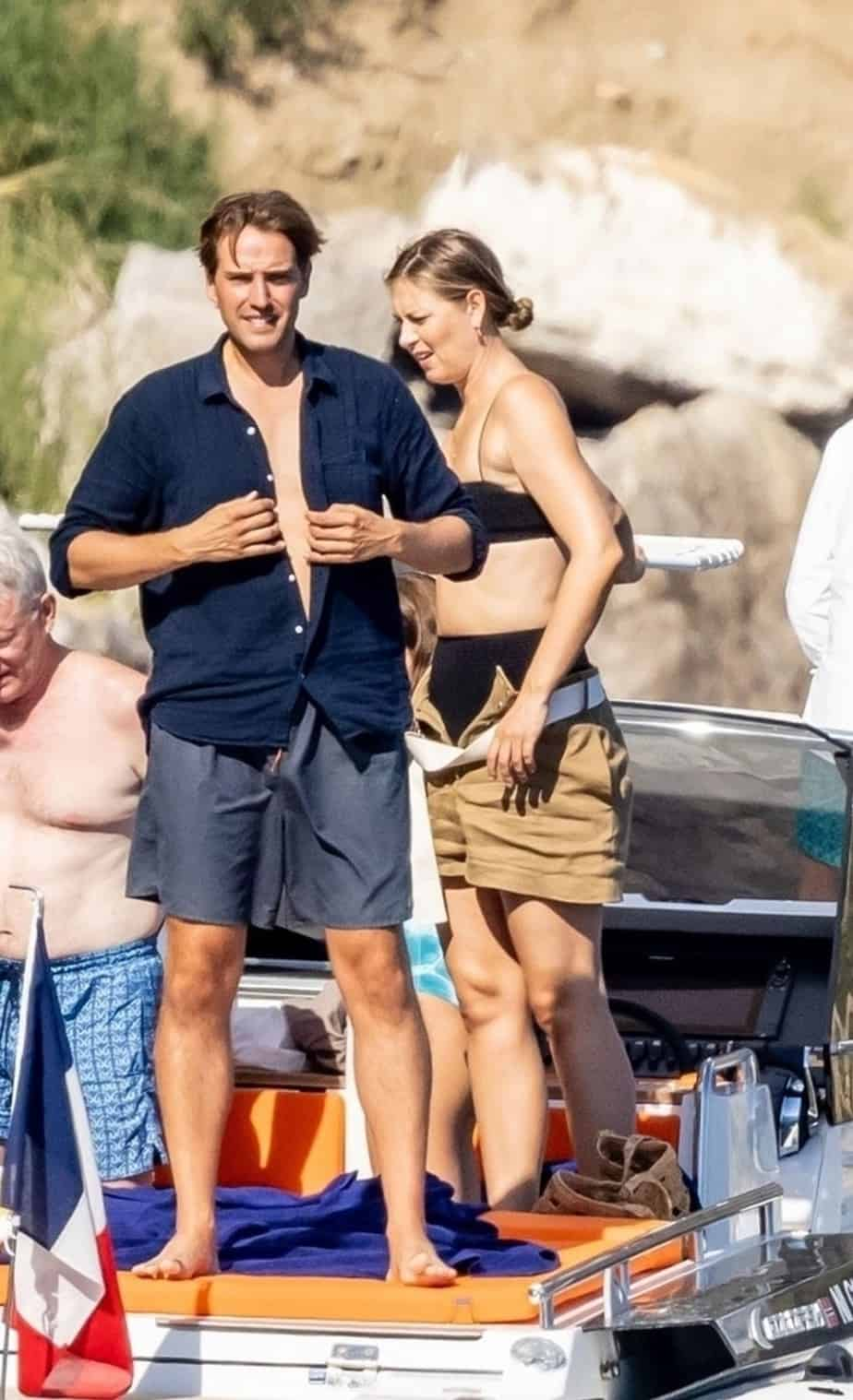 Sharapova with her fiance in Venice, Italy
