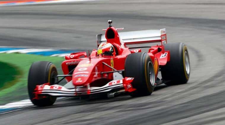 Michel Schumacher On Track