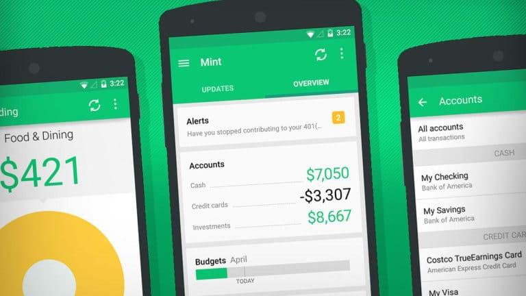 Best Finance Apps Mint Budgeting App